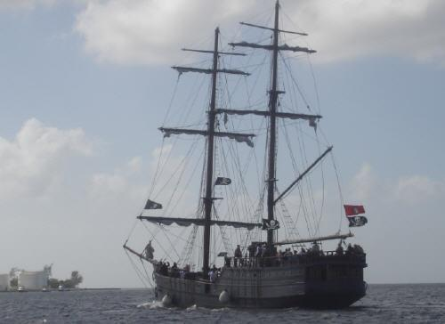 Pirate ship Grand Cayman