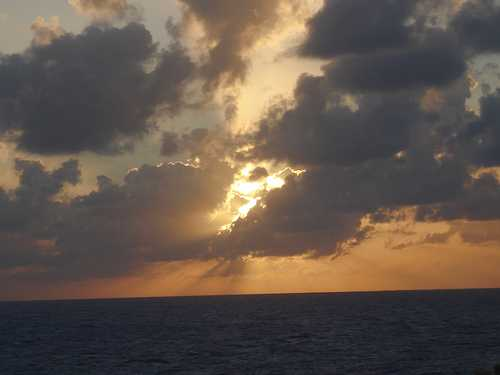Sunset at Grand Cayman